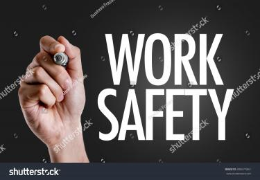 PowerPoint Template: occupational health safety his hand ...