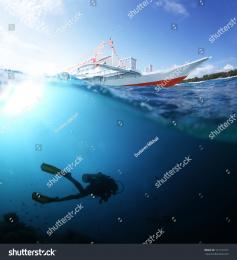 scuba diving powerpoint templates w   scuba diving